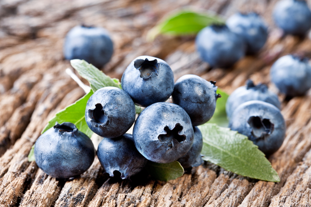 Blueberries, foods that help